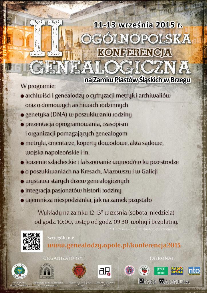 konferencja-genealogiczna-2015-Brzeg-plakat
