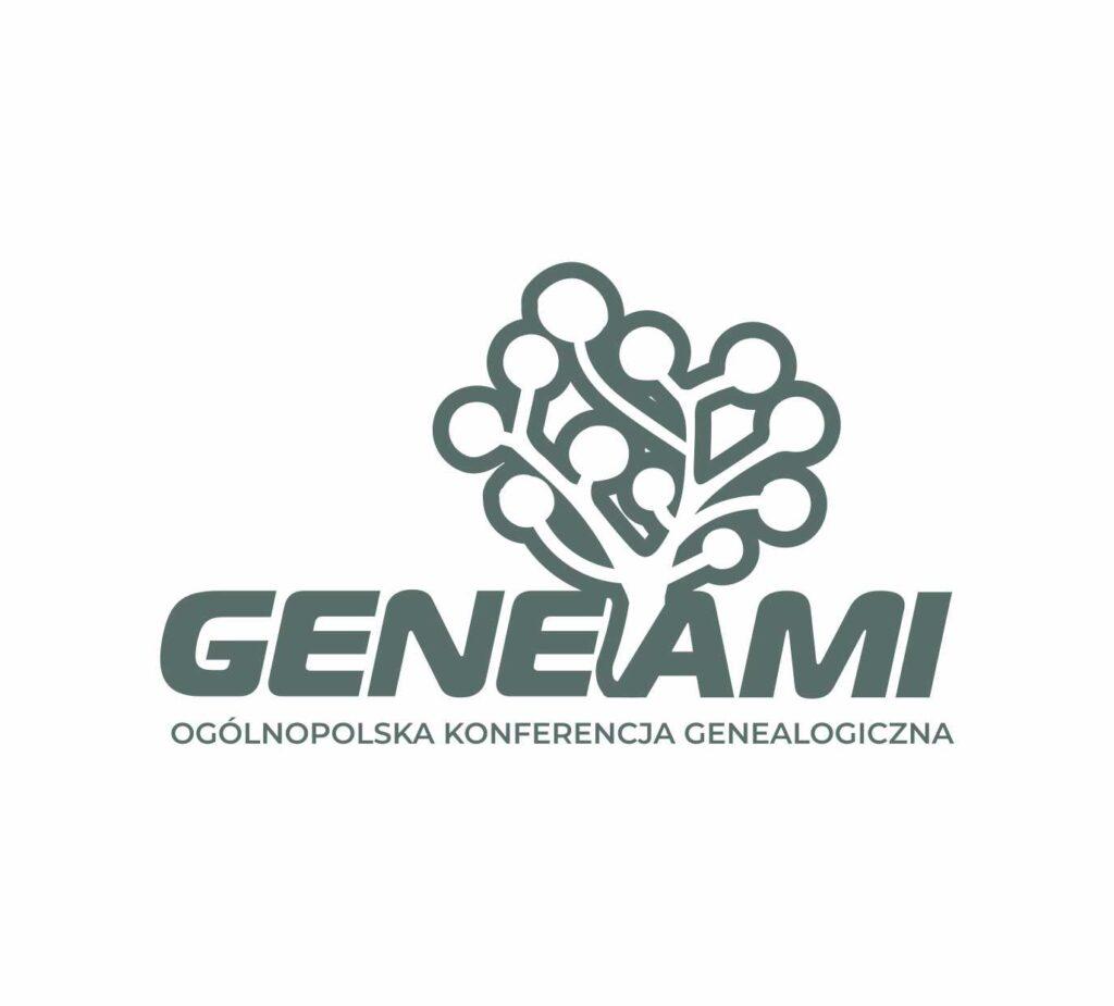 logo Geneami Ogólnopolska Konferencja Genealogiczna (P. Szymański)